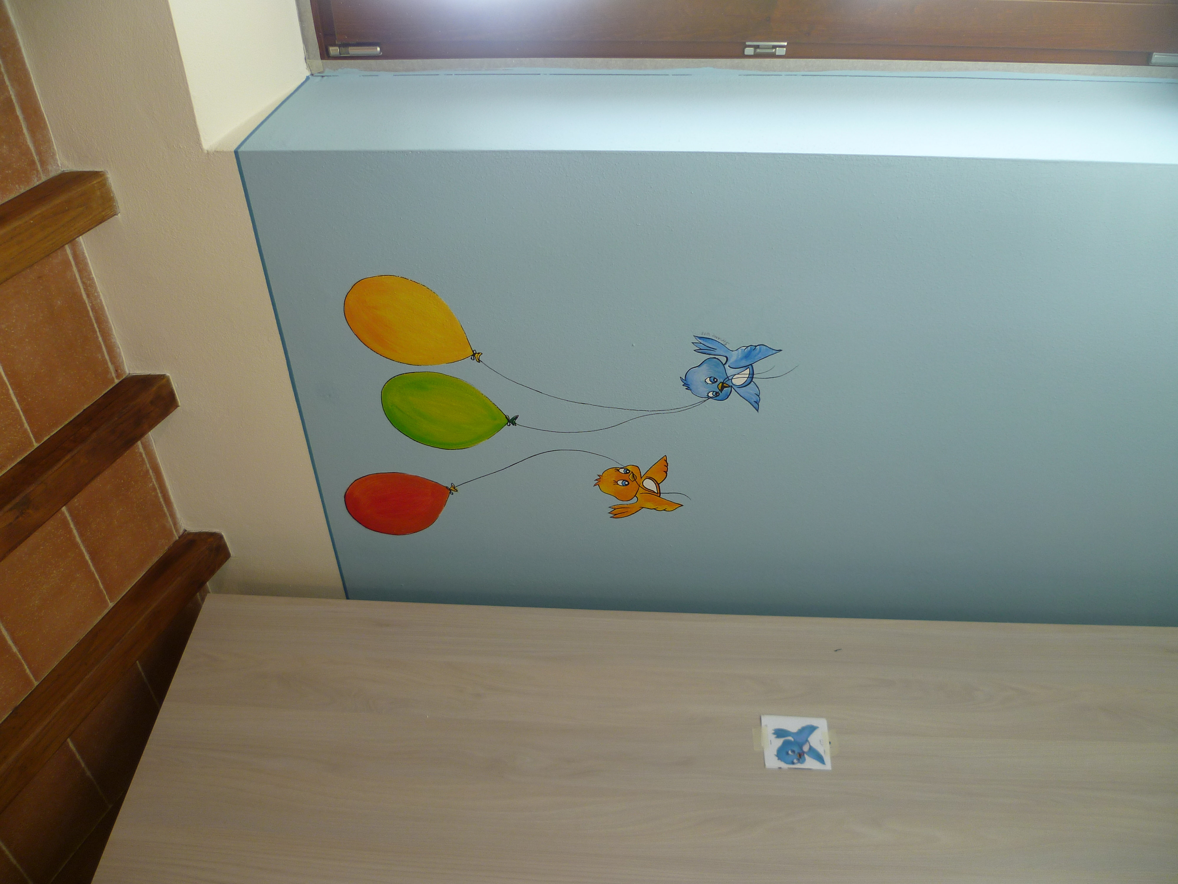 Decorazione di camere per bambini a lucca for Decorazioni per camere