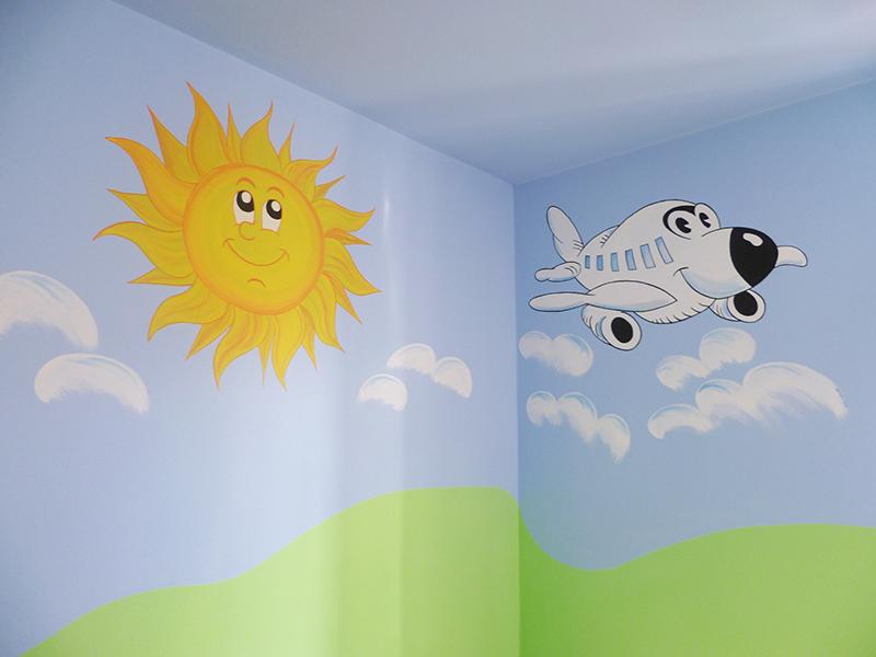 Favorito Decorazione di camere per bambini a Lucca. JA99