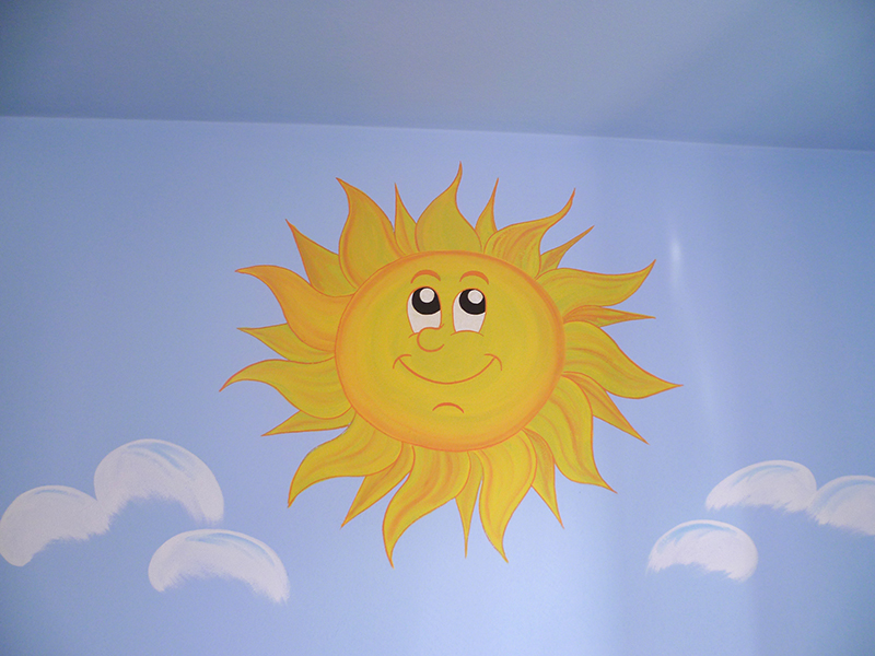 Super Decorazione di camere per bambini a Lucca. XC04
